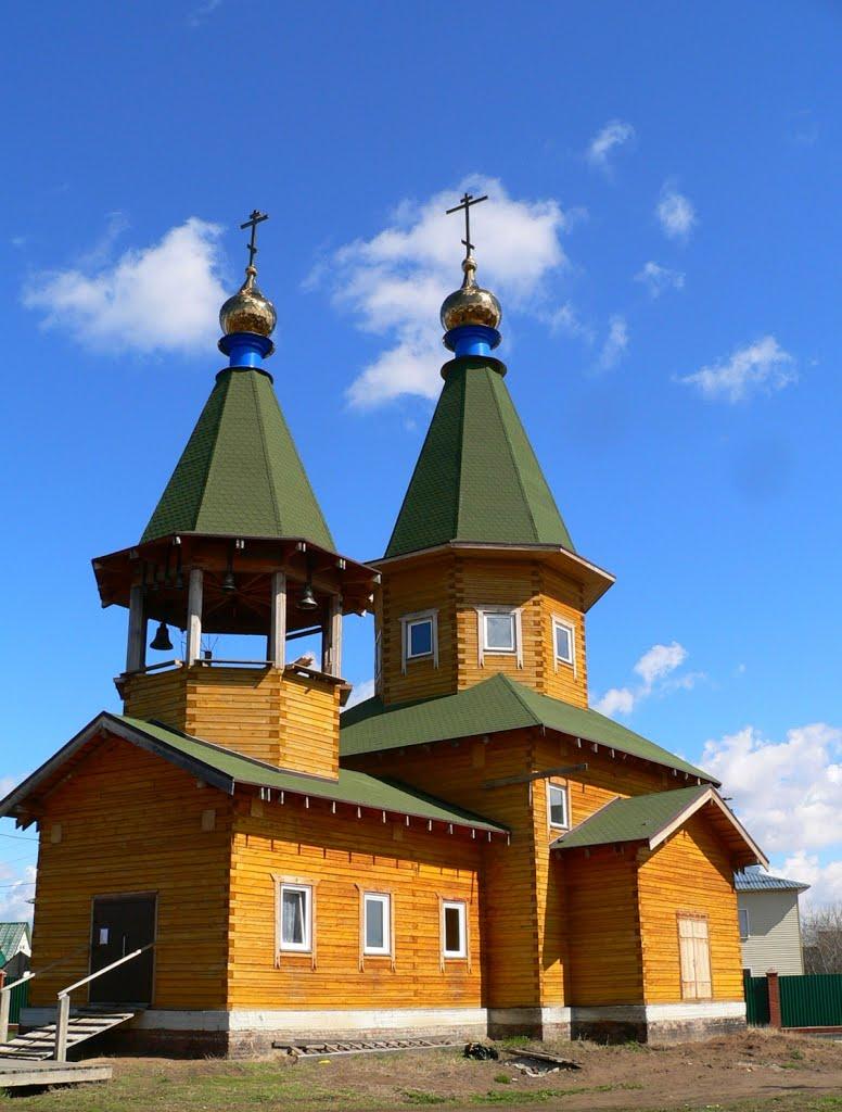 Храм во имя Святой Троицы, село Верх-Тула
