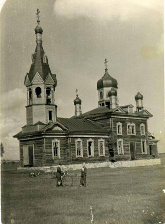 Свято-Троицкая церковь в с. Дальнем Болотнинского района