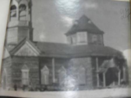 ГАНО, Ф.1418, оп.1,ед.хр.41,л.27 Церковь с. Новый Поросс Мошковского района фото 1951г.