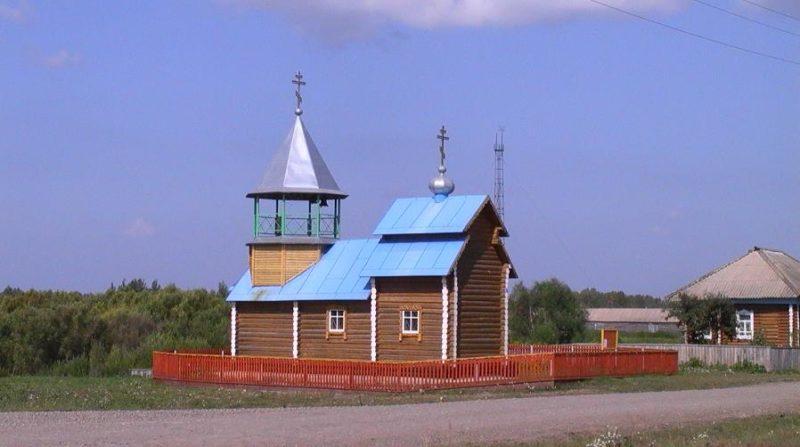 Биаза, Северный район, Новосибисркая область, храм во имя Архистратига Михаила