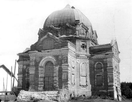 Церковь в честь Покрова Пресвятой Богородицы с. Завьялово