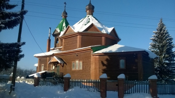 Храм во имя Рождества Пресвятой Богородицы с.Ново-Рождественка