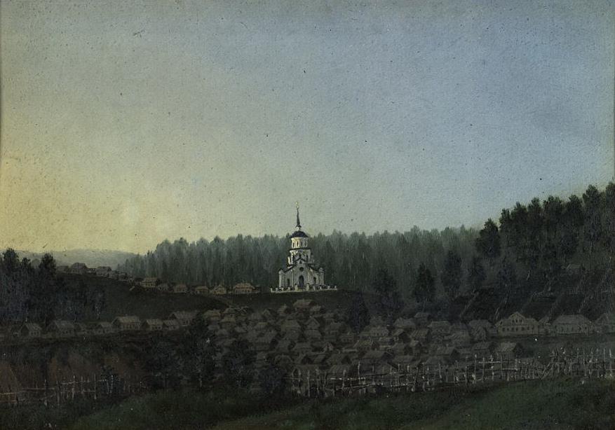 Церковь Вознесения село Семилужное
