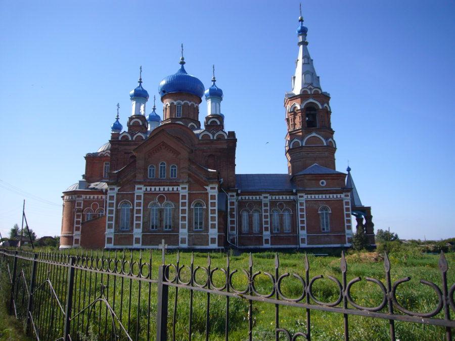 Храм в честь Казанской иконы Божьей Матери (с. Коробейниково)