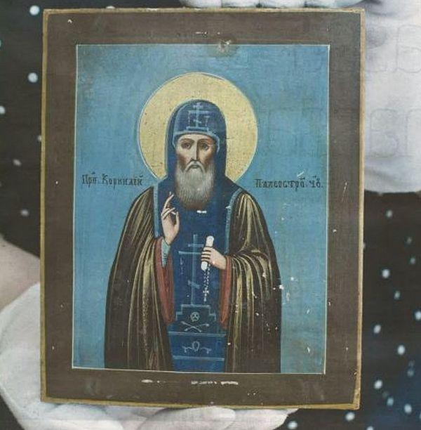 Уникальная икона XIX века святого Корнилия Палеостровского