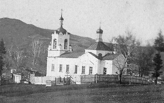 Успенская Нагорная церкво г. Горно-Алтайск