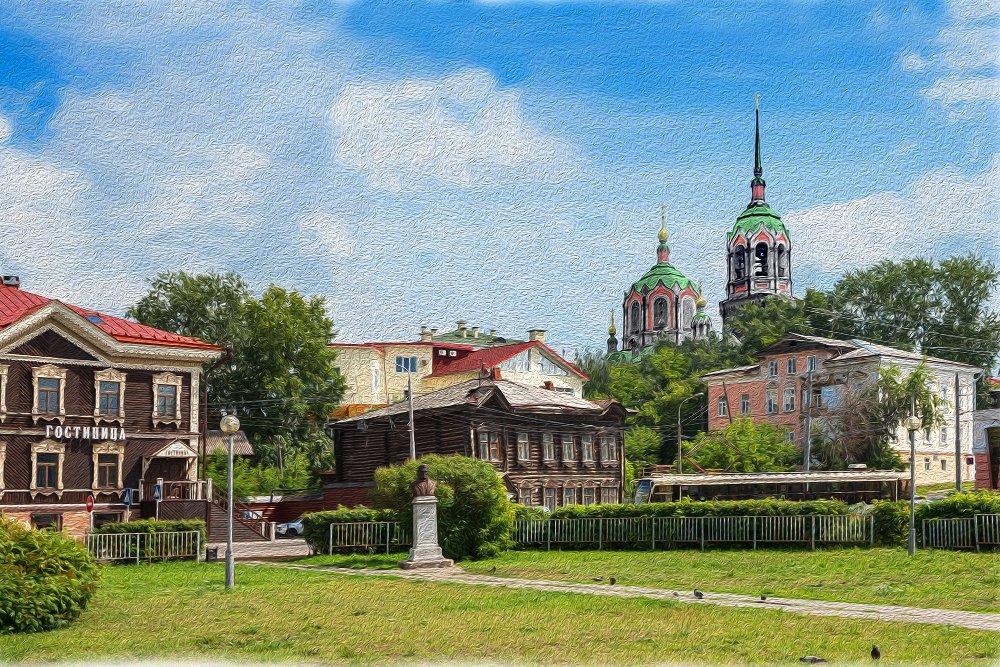 Томк, Никольская церковь, 1896-1936 гг.