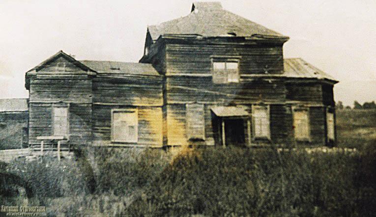 Здание бывшей Новоглушинской церкви после конфискации