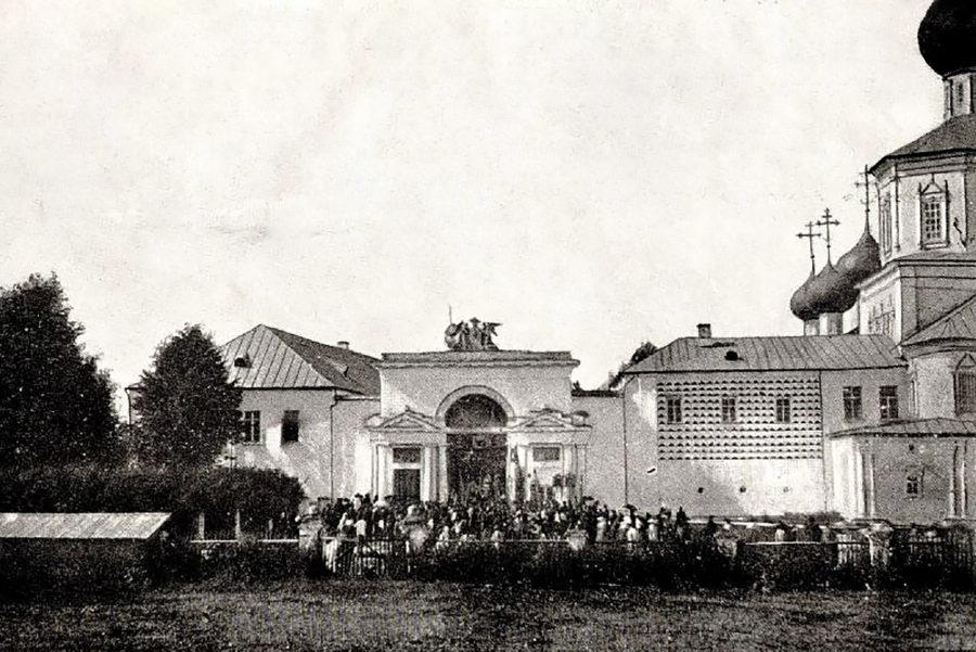 «Святые ворота» Успенского Желтикова монастыря, 1908 год