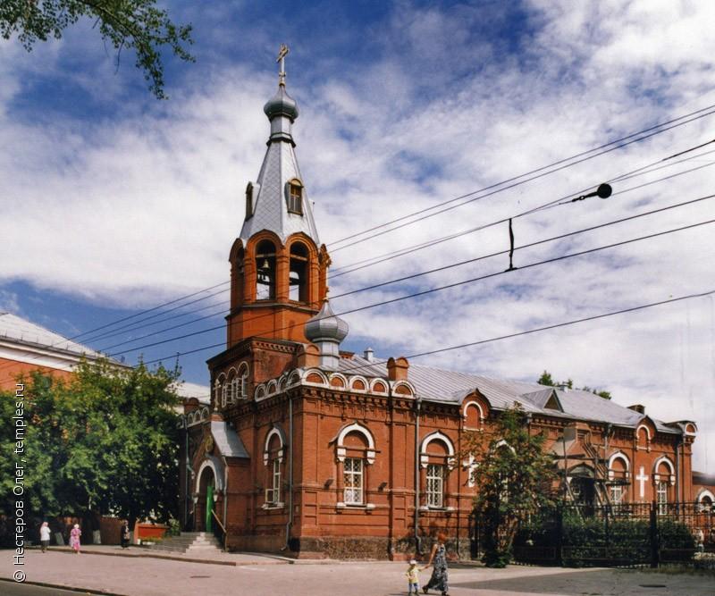 Барнаул Храм в честь Святителя и Чудотворца Николая
