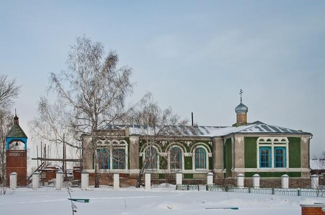 Церковь Илии Пророка в Панкрушихе