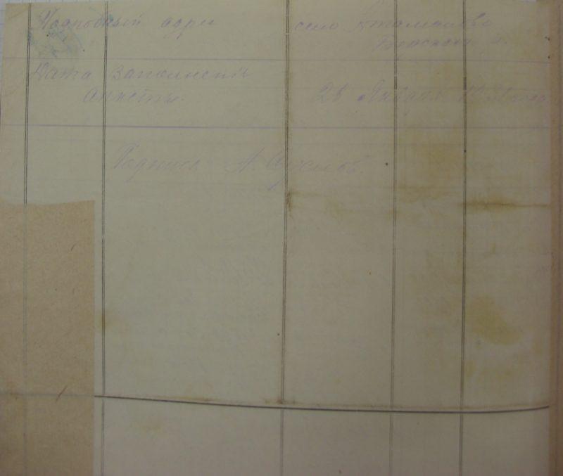 Завьялово, Атаманово, 1931 год, Архивные документы, ГАНО, Искитимский район, Бердский район, священник, анкета