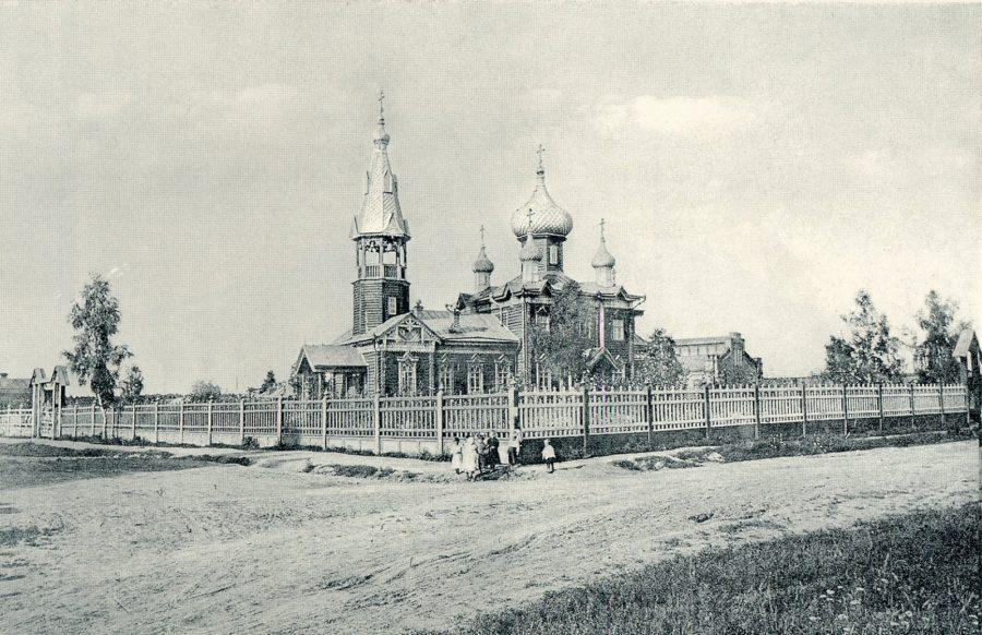 Томск, Железная дорога, Никольский храм