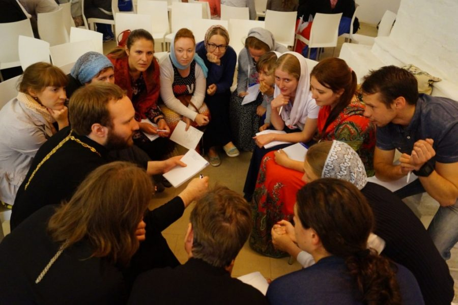 Москва, паломничество, молодежное служение
