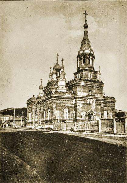 Томск,  Сретенская церковь