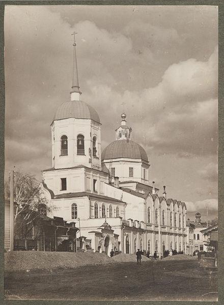 Томск. Богоявленский кафедральный собор. Профиль