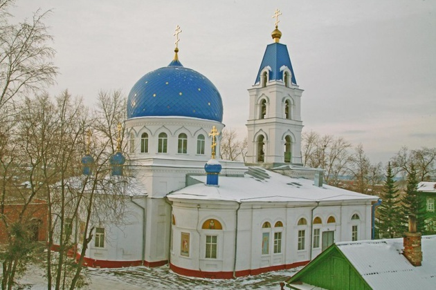 Томск, Троицкий храм
