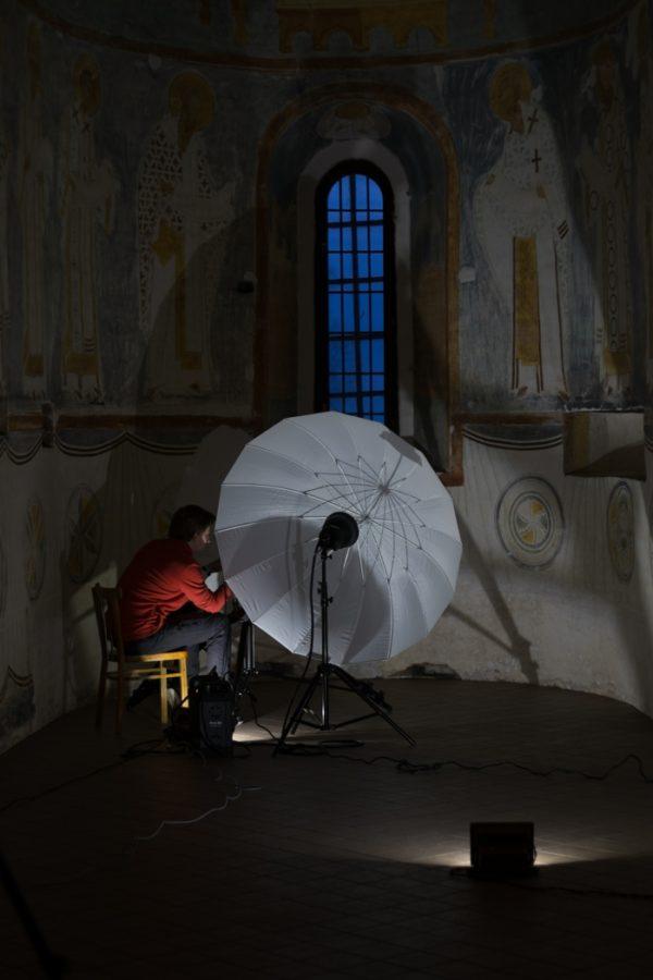 Архангельск,  фрески, Ферапонтов монастырь, оцифровка, XVI век