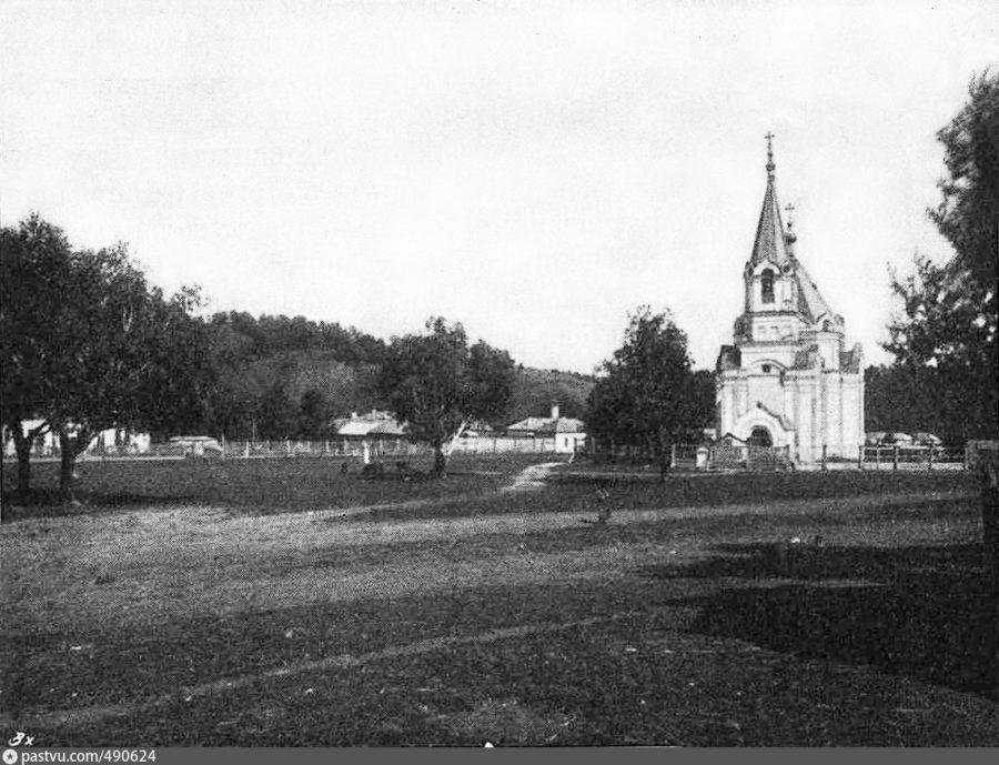 Колывань. Крьинский район. Вознесенский храм. Открытка начала ХХ века