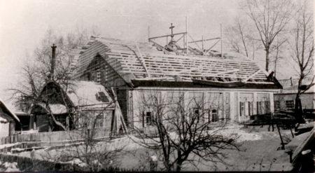 Никольский храм Болотное, 1959 г.