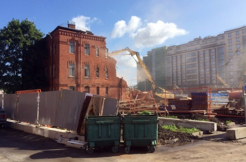 Санкт-Петербург, градозащита, градозащитники, снос зданий