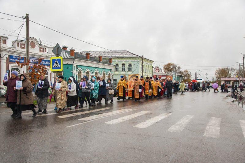 Мариинск, Крестный ход, Новомученники, Сиблаг