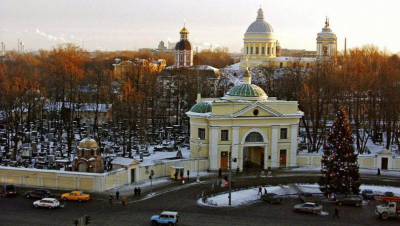 Александро-Невская Лавра, форум, музей