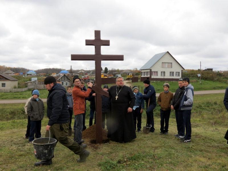 Кмеровская область, Колыон, Поклонный крест