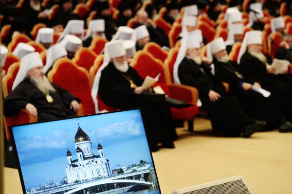 Москва, Святейший Патриарх Кирилл, Архиерейский собор Русской Православной Церкви