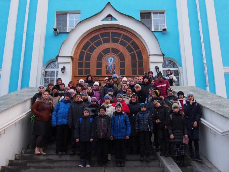 гимназия, летопись храмов, школьники, экскурсия, Екатеринбург