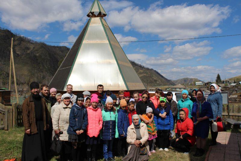 Состоялось обновление Церковного музея в с. Мьюта Республики Алтай 1