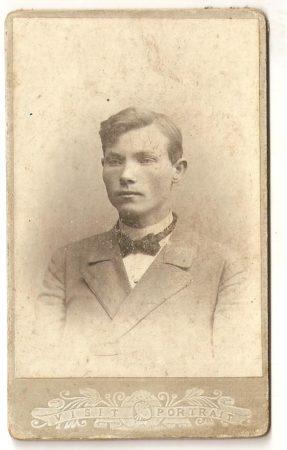 Василий Гоголушко, псаломщик церкви д.Ласица, 1904г.