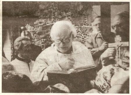 о.Александр Гоголушко, настоятель церкви д.Раковичи Гродненской обл., сын о.Василия Гоголушко, 1996г.