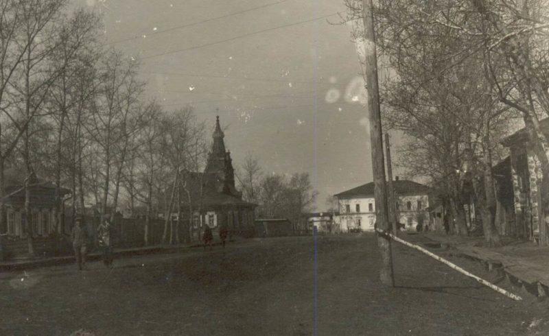 Костел. Фотография около 1910-г