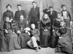 Семья протоиерея Николая Антоновича Завадовского