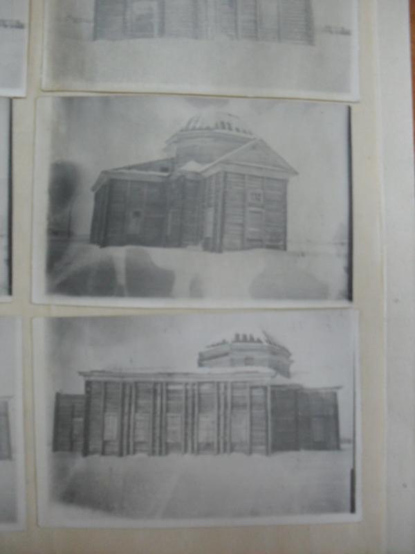 ГАНО, Ф.1418, оп.1,ед.хр.43,лл.9 Фотографии присланные Камышевским сельсоветом. Название церкви не указано.