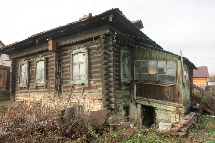 Константин Голодяев предполагает, что это самый старый в городе дом