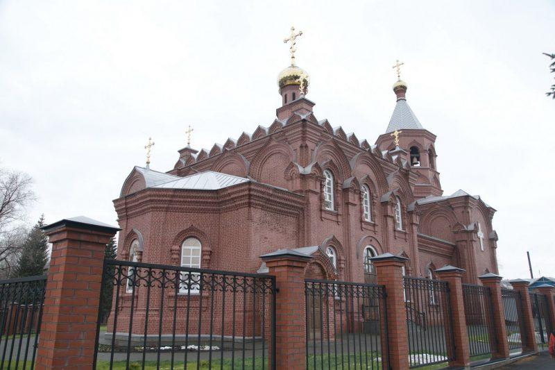 На родине оружейника Калашникова отреставрировали храм