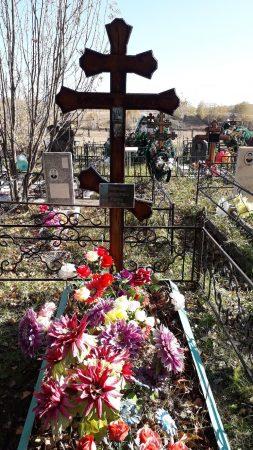 Священник Иоанн Соколов +30.09.1917. Кладбище Верх-Тулы