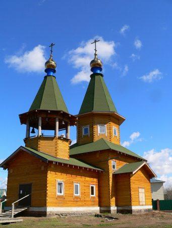 Церковь Живоначальной Троицы в Верх-Туле НСО
