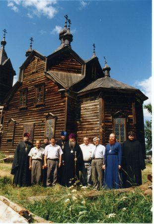 2004 г. 90-летие Турнаевской церкви.
