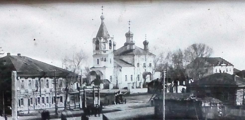 Спасский храм в 1936 г.