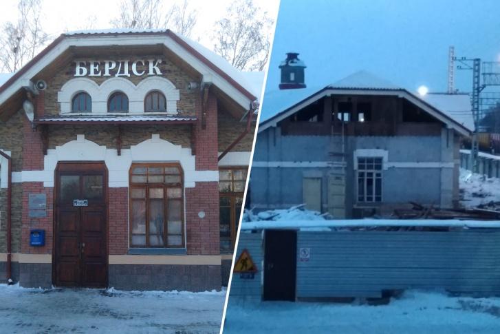 В историческом здании выбиты окна и демонтирован декор — общественники опасаются, что его снесут