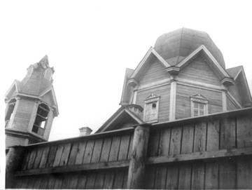 Воскресенская церковь после закрытия в 1930 г.