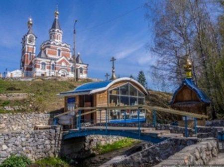 Святой ключ. Храм в честь Новомучеников и Исповедников Церкви Русской