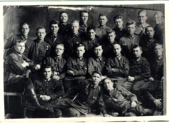 Курсы работников НКВД. Новосибирск, 1930-е